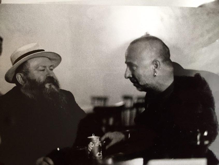 Thomas Kausel und Nitsch