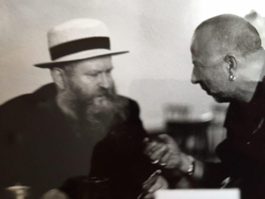 Thomas Kausel und Jörg Immendorff