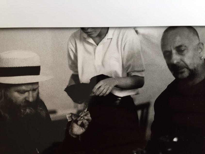 Thomas Kausel, Hermann Nitsch und Jörg Immendorff