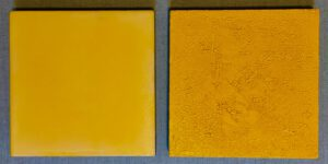 Malerei in gelb