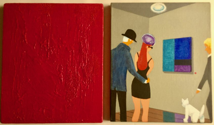 abstrakte malerei by singulart