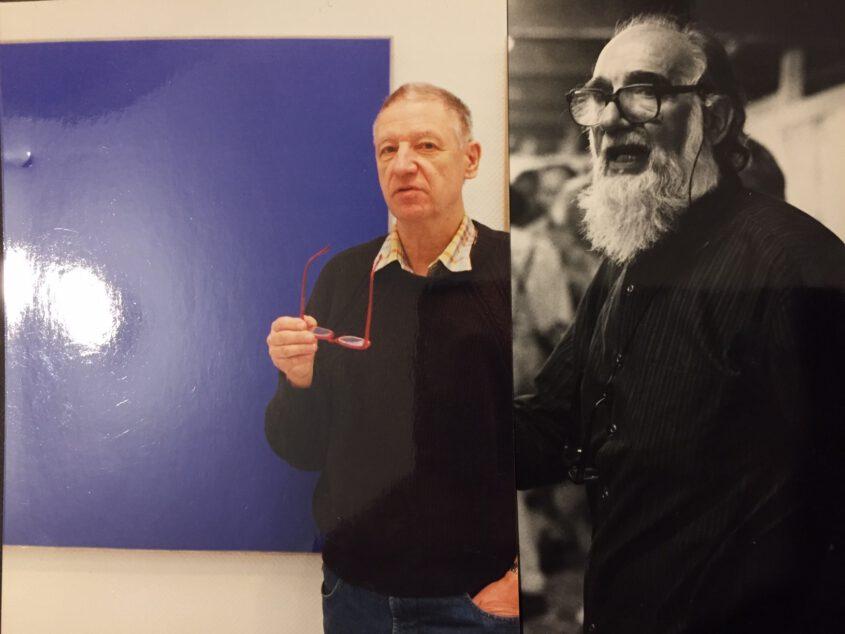 Thomas Kausel und Emilio Vedova