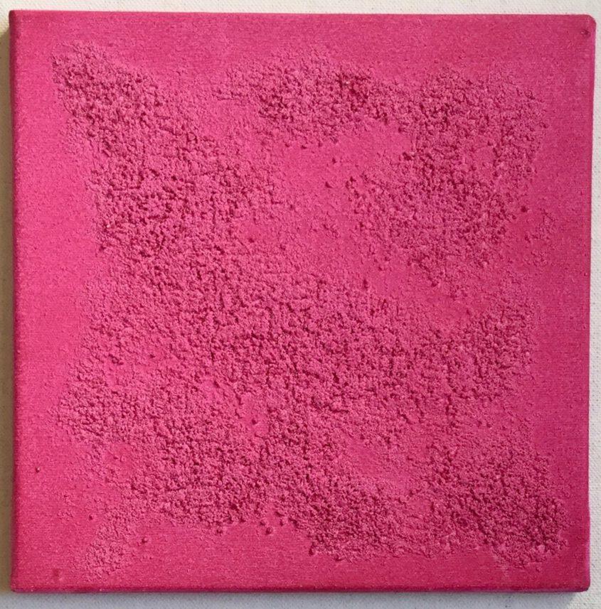 Malerei mit der Farbe magenta