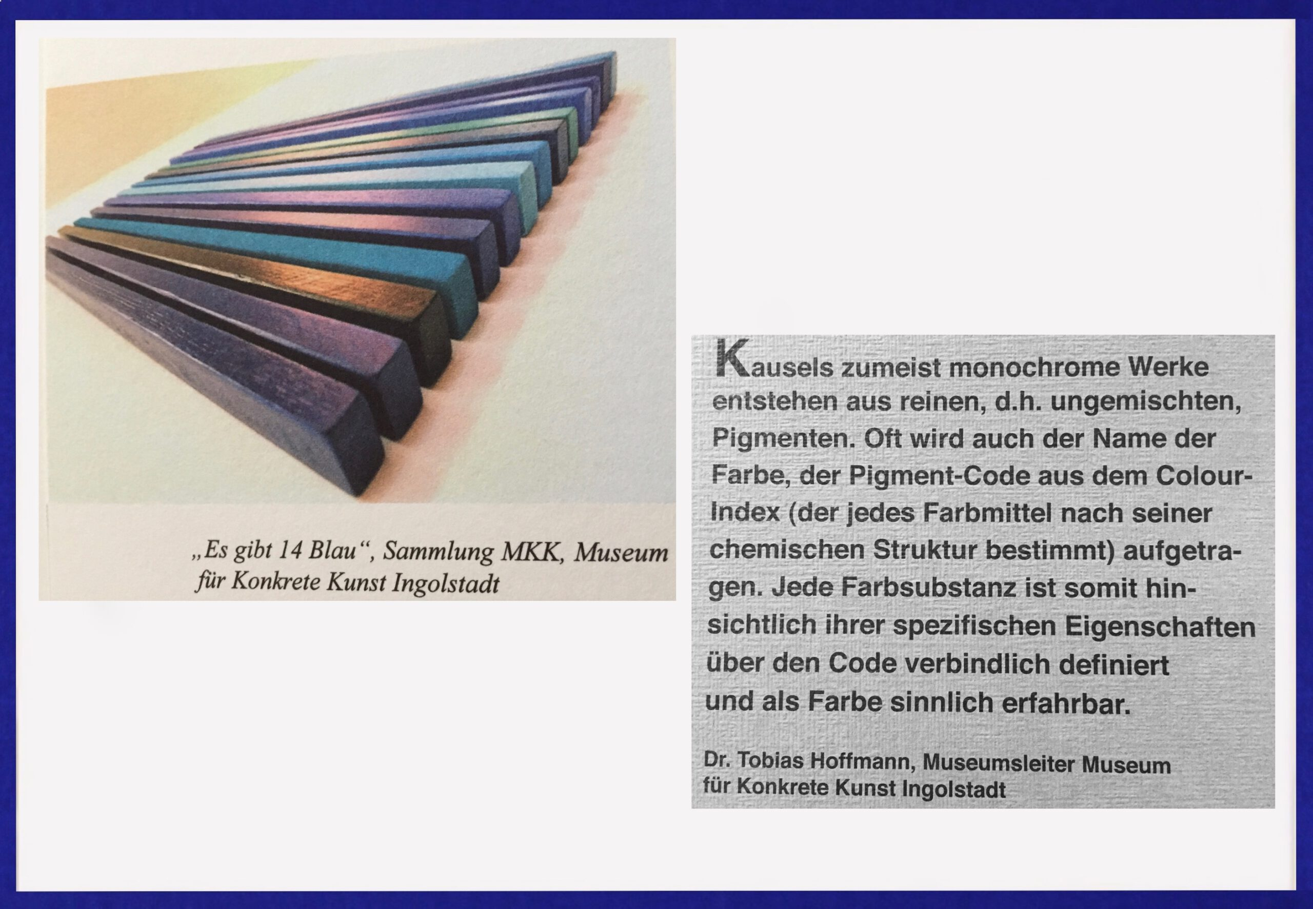 Museum für konkrete Kunst Ingolstadt. kunstsammlung