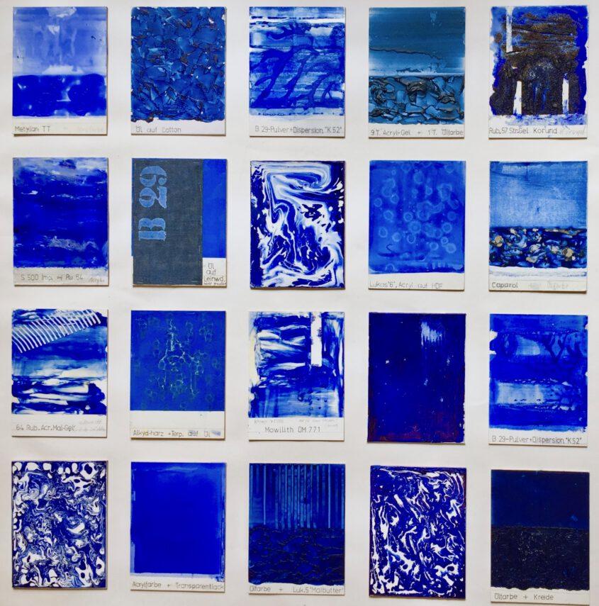 Yves Klein ultramarinblau