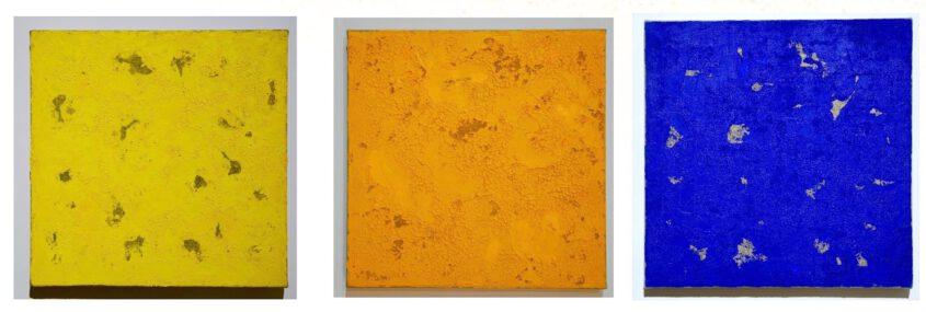 Monochrome Werke umfassen nicht nur einfarbige Malerei sondern auch die als Farbfeldmalerei des Abstrakten Expressionismus bezeichnet werden können. Bedeutend ist die Autonomie und Präsenz der Farbe sowie die vollkommen vom Zwang der Gegenstandsrmalerei befreite Werk.