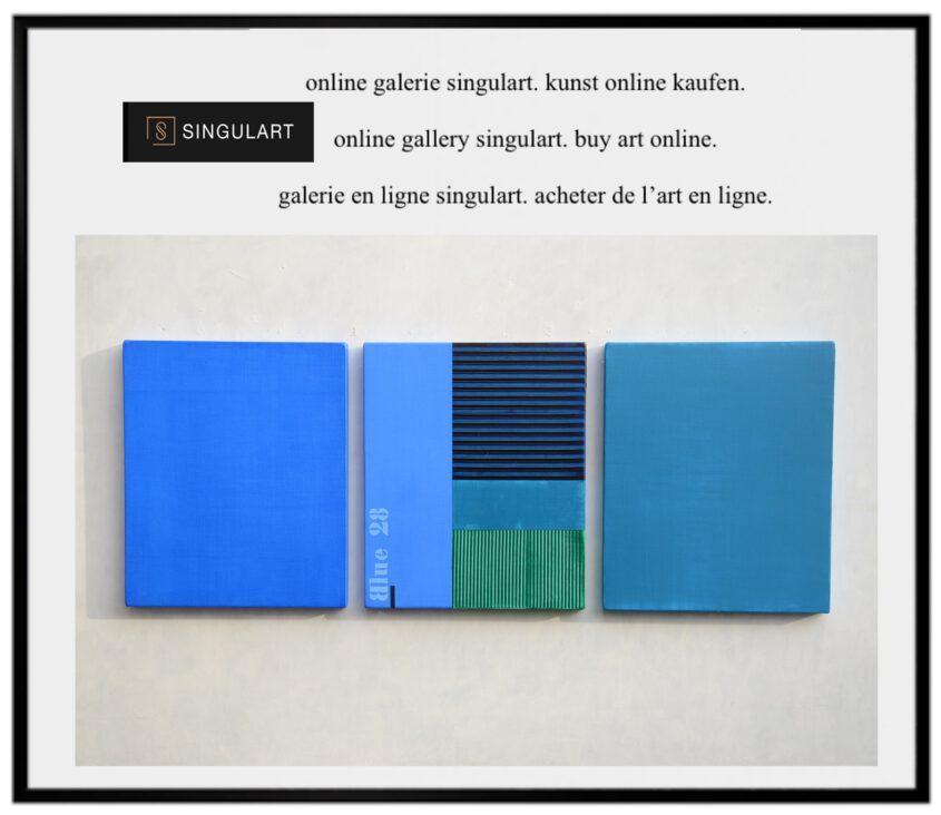 Farbfeldmalerei, color field painting, monochrome malerei